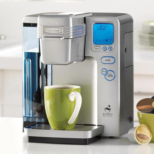 Brookstone Coffee Maker For One : Cuisinart K Cup Single Serve Coffee Makers at Brookstone Buy Now!