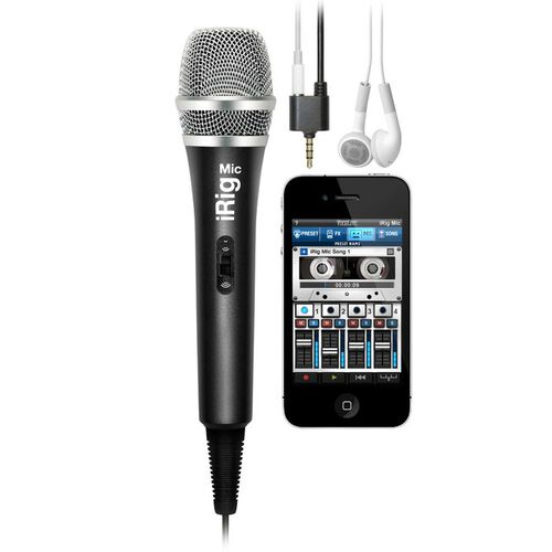 iRig Mic Handheld Microphone for iOS Devices