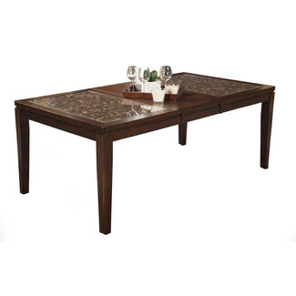 Granada Extension Dining Table with Butterfly Leaf