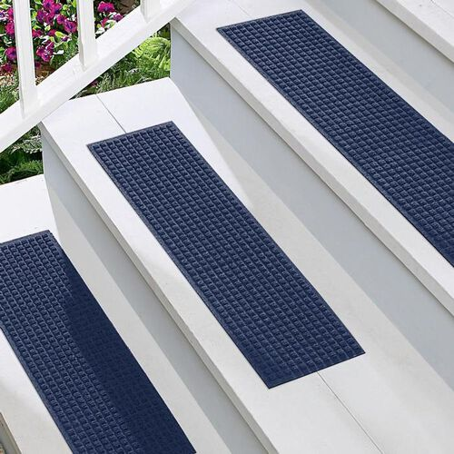 Indoor/Outdoor non slip stair treads at Brookstone—Buy Now!