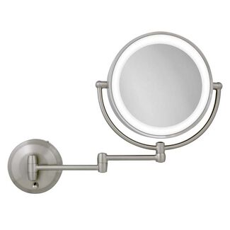 Zadro Endless Rotation LED Lighted Wall-Mount Mirror