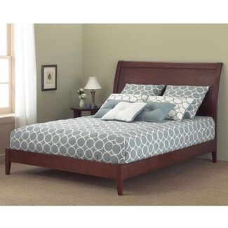 Java Solid Wood Platform Bed