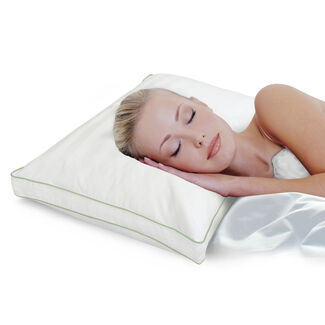 SensorPedic Dual Comfort Supreme Gusseted Pillow with Sensor-Foam and iCool Technology