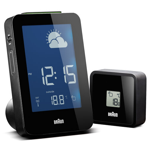 Braun Digital Weather Station Alarm Clock