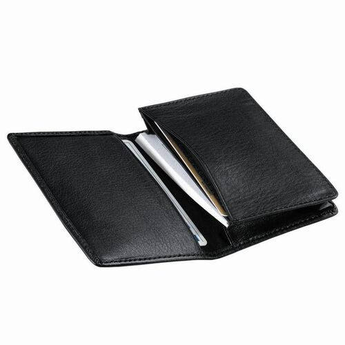 Personalized Royce Leather Deluxe Business Card Case