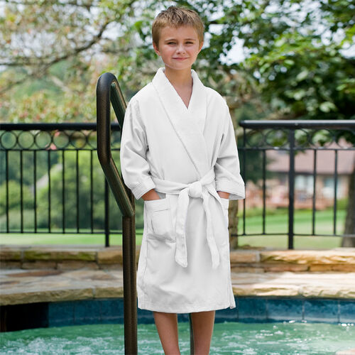 Micro Plush Bathrobes for Kids