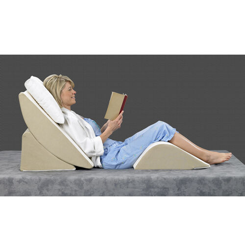 Bed Wedge 3-Piece Sit-Up Pillow System