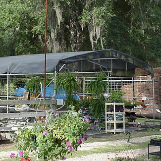 Greenhouse Shade Cloth System with 55% Shade Creation