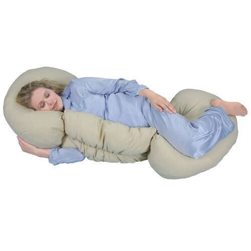 Leachco Grow To Sleep Self-Adjusting Pregnancy Body Pillow