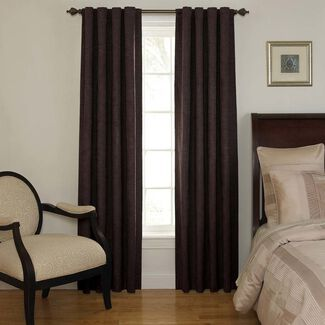 Room-Darkening Backtab Window Curtain