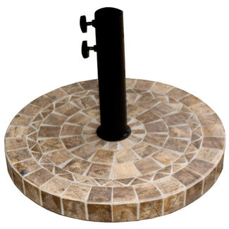 Marble Heavy-Duty Patio Umbrella Base