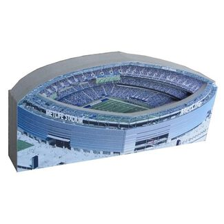 New York Jets/MetLife Stadium Replica w/ Display Case