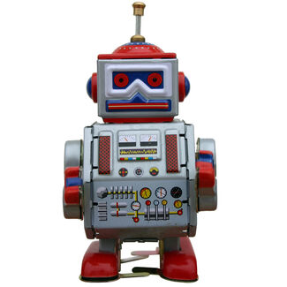 Collectible Tin Toy Classic Robot