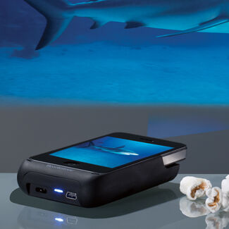 Pocket Projector for iPhone® 4 and 4S Devices