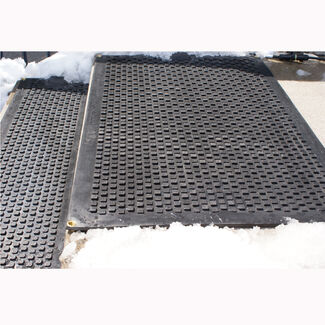 HOT-blocks Outdoor Heated Industrial Walkway/Driveway Mat
