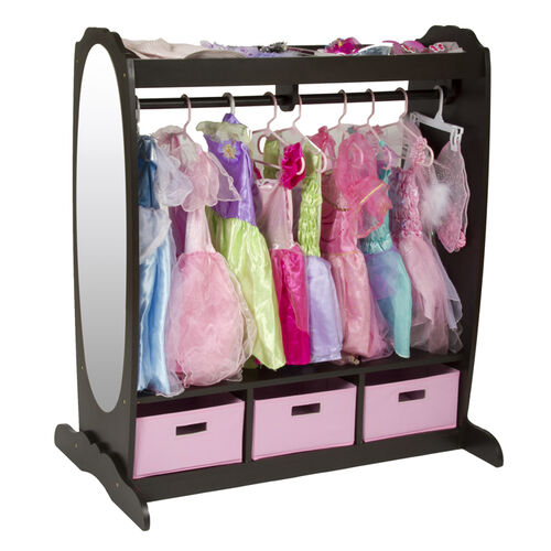 Guidecraft Children's Dress-Up Storage Center