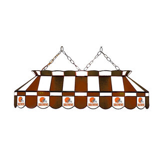 "NFL Cleveland Browns 40"" Glass Lamp"