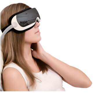 Eye and Temple Massager with MP3 Storage
