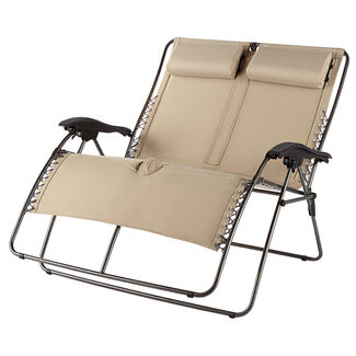 Double-Wide Zero-Gravity Lounger