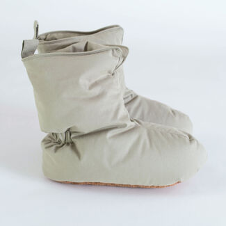 Unisex Snuggly Down Booties by Downlite