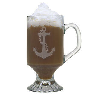 10oz Anchor Collection Footed Mugs - Set of 4