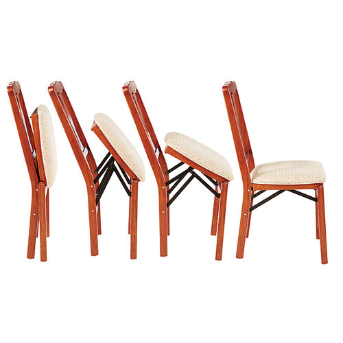 Elegant Folding Wooden Chairs At Brookstone Buy Now