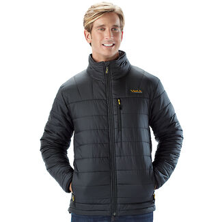 Men's Insulated Heated Jacket with Rechargeable Battery