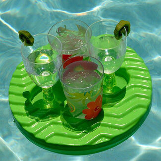 Floating Mini Tray Drink Holder for Spa or Pool