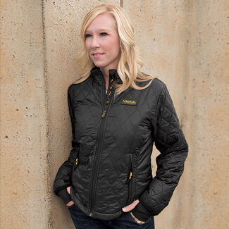 Women's Insulated Heated Jacket with Rechargeable Battery