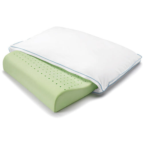 BioSense® Memory Foam Neck Pillow with Better Than Down® Cover