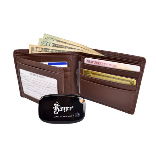 Royce Personalized Freedom Wallet for Men with Wallet Tracker