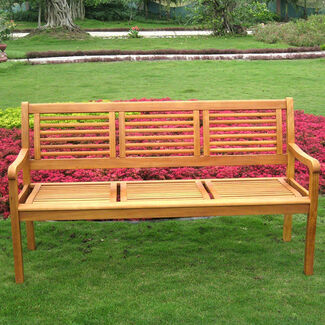 Royal Tahiti Bar Harbor 3-Seater Outdoor Bench