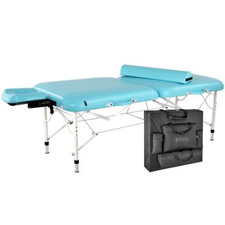 Master Calypso Ultra-Light LX Portable Aluminum Massage Table Package
