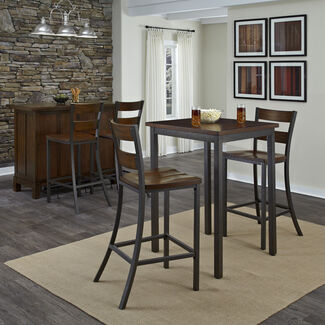 Home Styles Cabin Creek 3-Piece Bistro Table