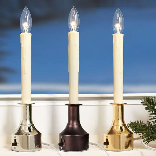 Adjustable-Height Electric Window Candles
