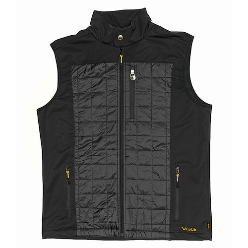 Heated Insulated Men's Vest with Rechargeable Battery