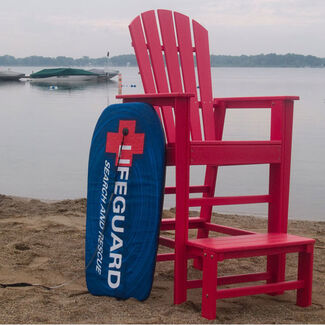 POLYWOOD South Beach Outdoor Lifeguard Chair
