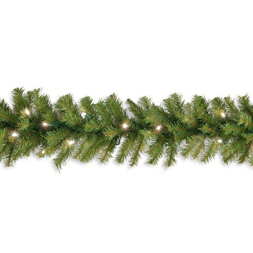 Pre-Lit Northwood Fir Garland