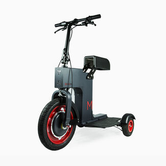 Fully Foldable Electri Sit or Stand Scooter by Acton M Scooter