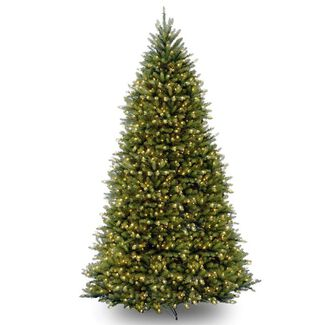 Pre-Lit Dunhill Fir Artificial Christmas Tree