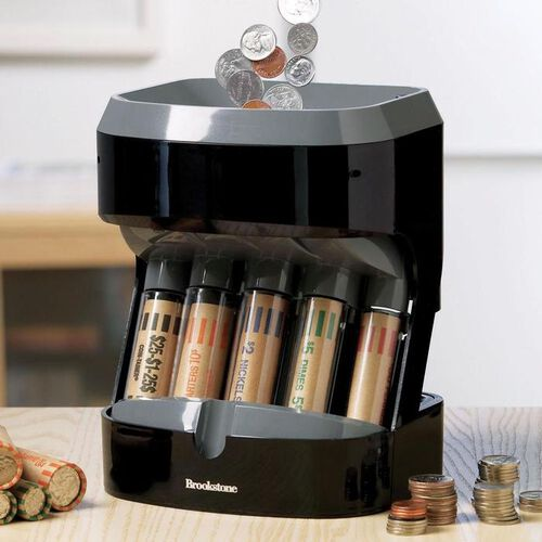 Motorized Coin Sorter