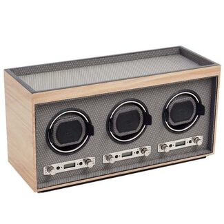 Meridian Collection Triple Watch Winder Module 2.7 by Wolf