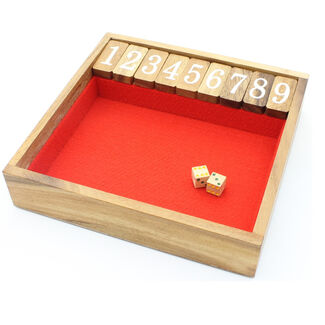 Shut The Box Classic Game - Large