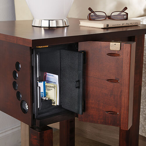 Night Stand With Quick Access Concealed Gun Safe Buy Now