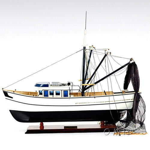 Forrest Gump Shrimp Boat Wooden Model
