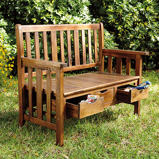 Lexington Indoor/Outdoor Storage Bench