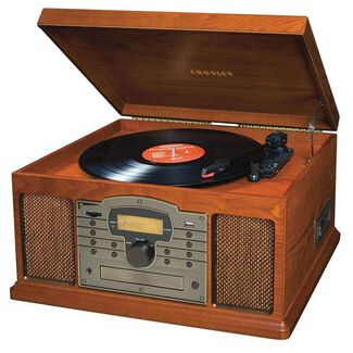 Crosley Record Players - Troubadour Entertainment Center
