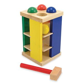 Melissa & Doug Toys - Pound and Roll Tower