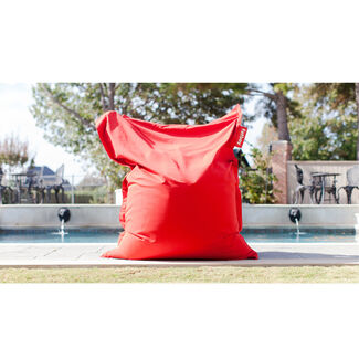 Original Outdoor Easy to Clean Sunbrella Fabric Lounge Bean Bag Chair by Fatboy