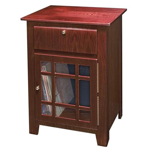 Crosley Richmond Entertainment Stand with Cabinet